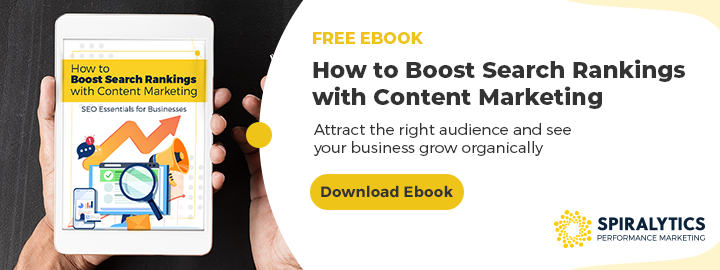 Boost SEO through Content Marketing