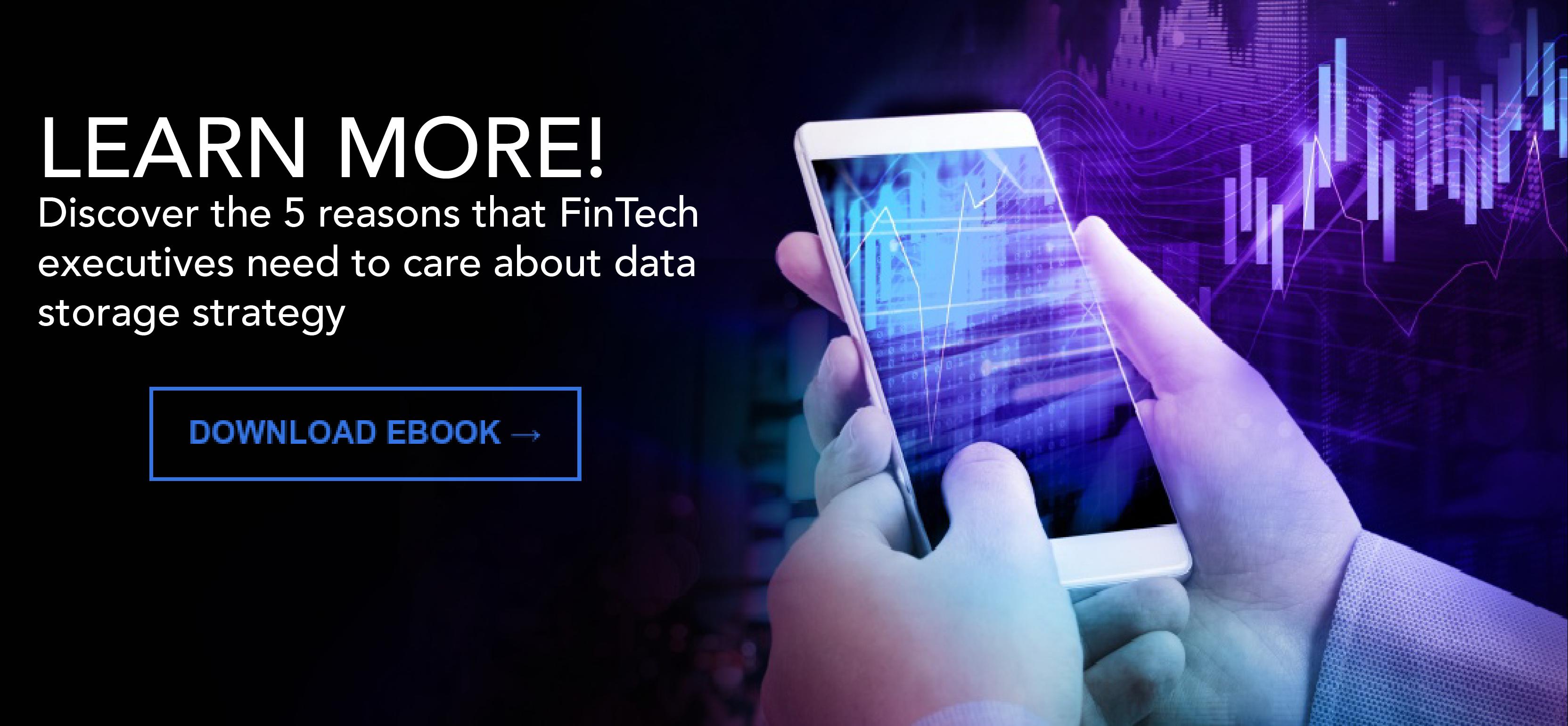 FinTech Data Storage eBook