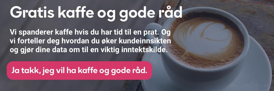 Gratis kaffe og gode råd