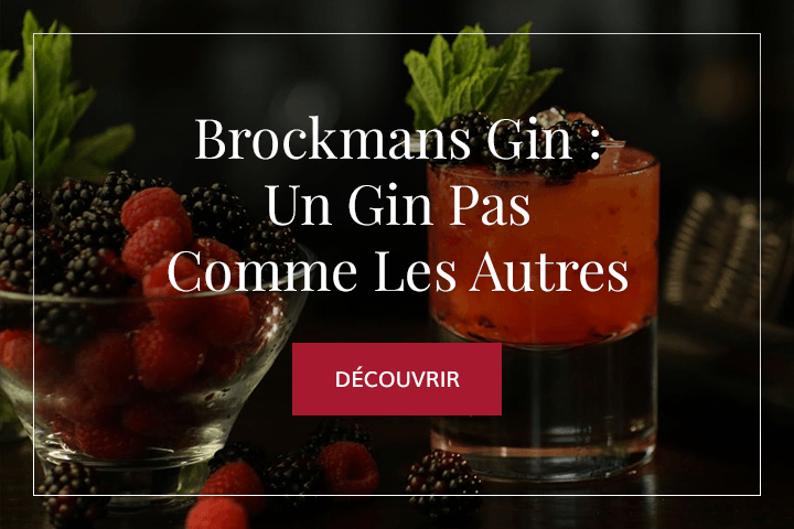 Brockmans Gin : L'authentique London Dry Gin