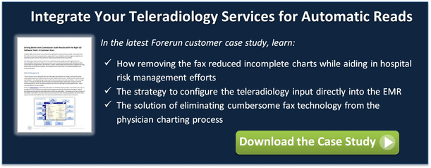 Eliminate the fax for your remote radiology services