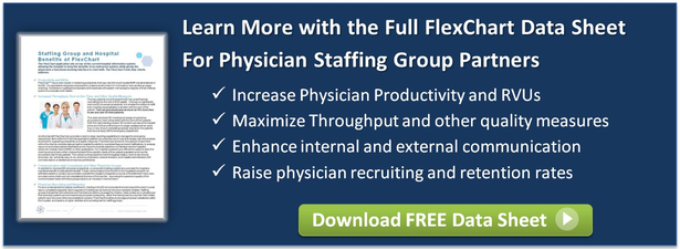 Maximize retention rate for physician staffing groups