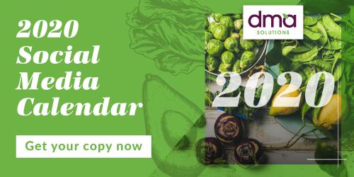 DMA Solutions - 2020 Social Media Calendar