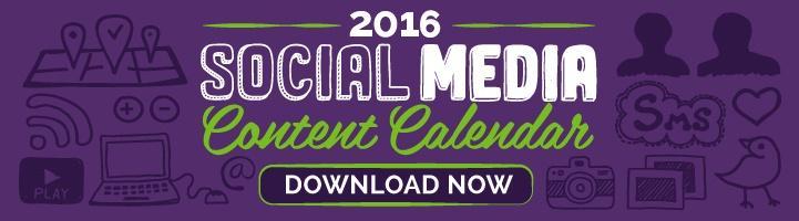 Get 12 Months of Social Media Content Ideas