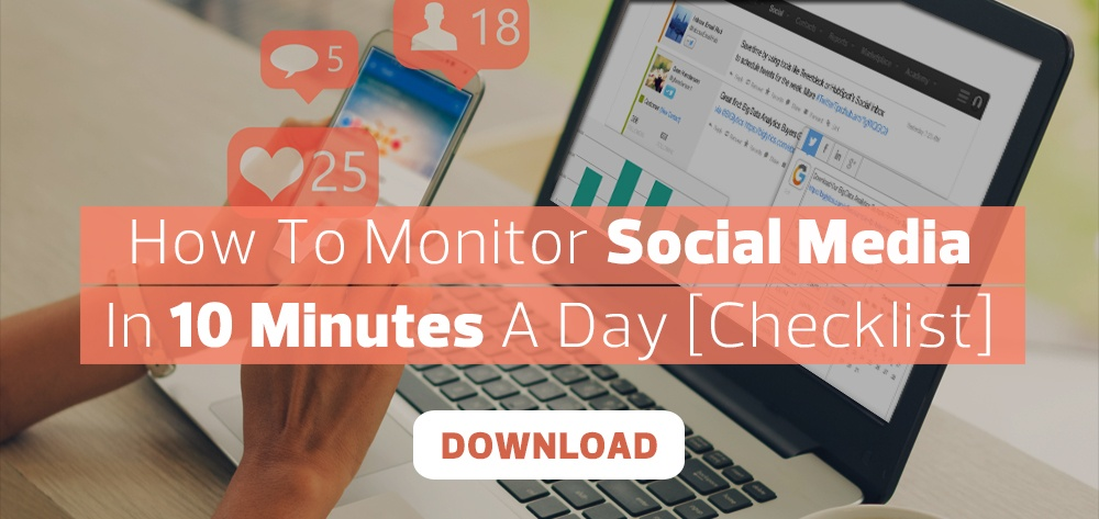 How to Monitor Social Media in 10 Minutes a Day for Automotive