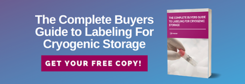 The Complete Buyers Guide to Labeling for Cryogenic Storage. Get your free copy!