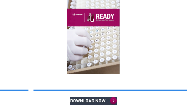 Ready Labware Services brochure