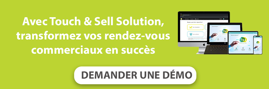 demander une démo Touch & Sell Solution