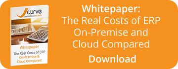 Whitepaper download - The Real Costs of ERP - On-Premise and Cloud Compared
