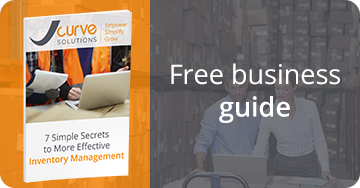 Free business guide - 7 simple secrets to more effective inventory management