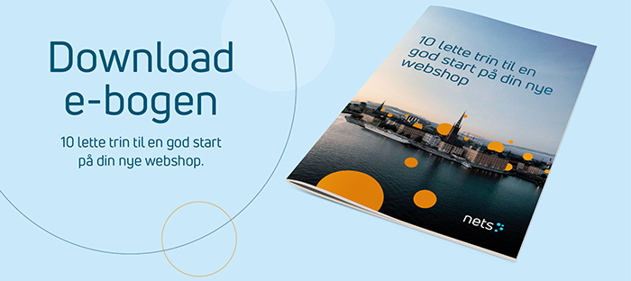 Download e-bogen: 10 trin til en god start på din webshop