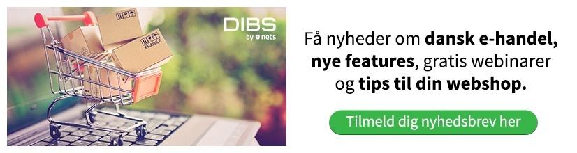 Tilmeld DIBS-nyhedsbrev