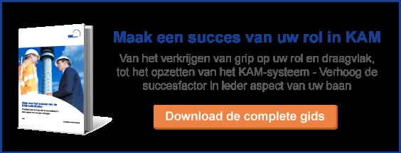 Maak een succes van uw rol in KAM en download de Gids