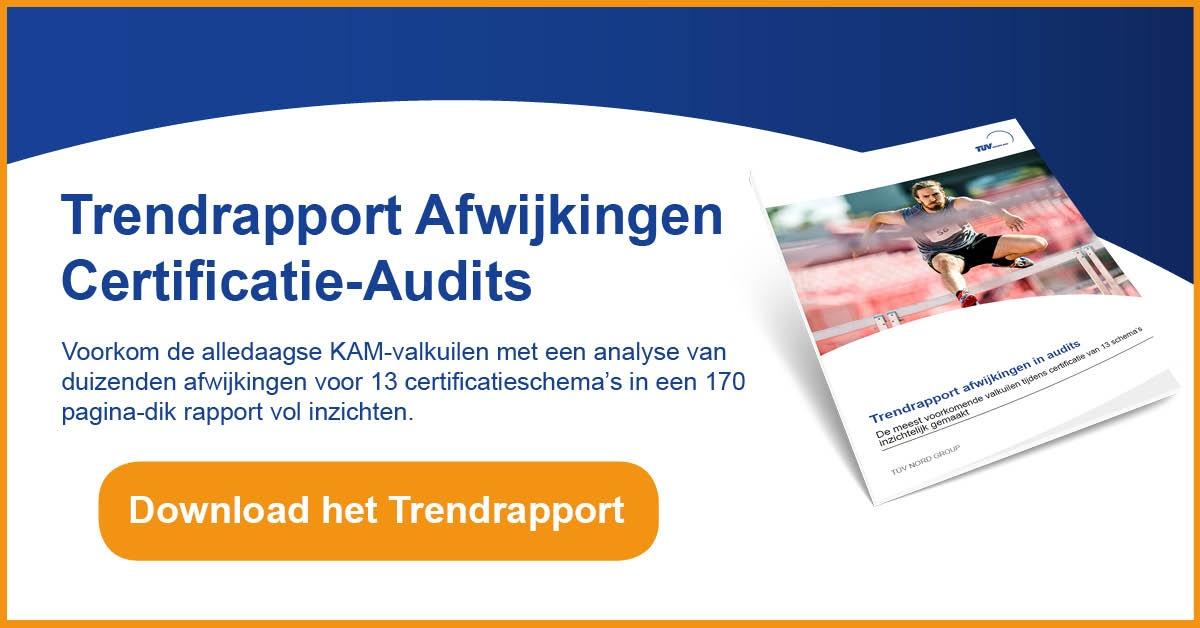 Trendrapport Afwijkingen in Audits