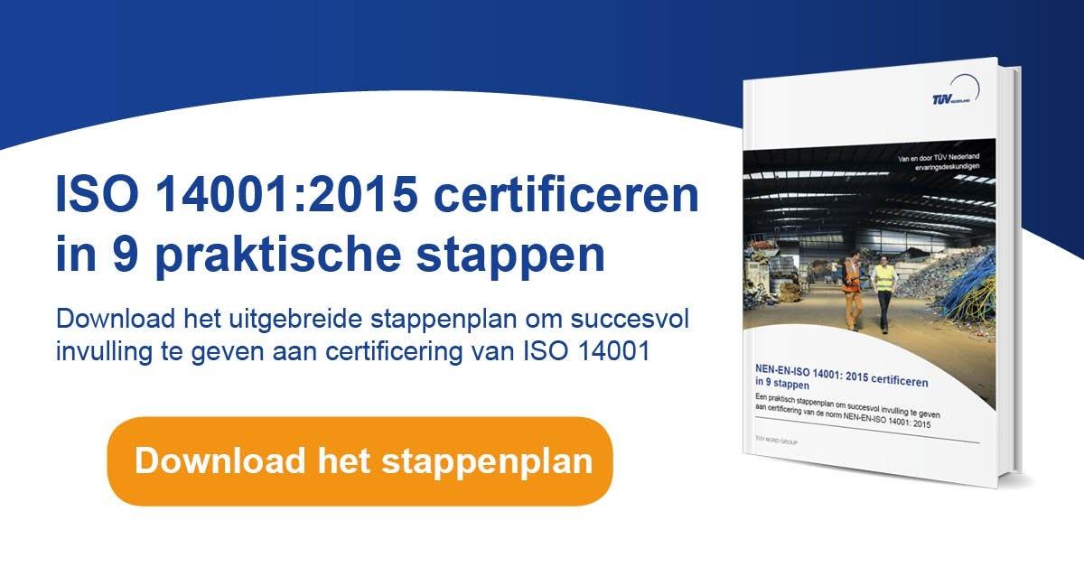 ISO 14001 certificeren in 9 praktische stappen