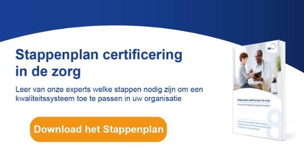 Download het Stappenplan certificering in de zorg