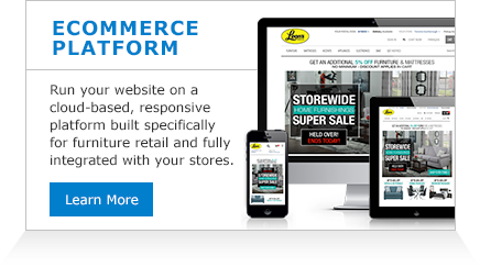 Bring your stores online on the only ecommerce platform built specifically for furniture