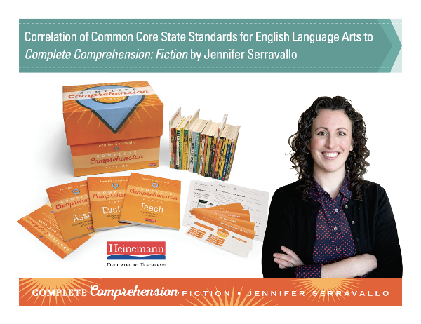 download complete comprehension state and national standards correlations