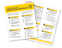 Download Your Fire Marshal Inspection Checklist Today