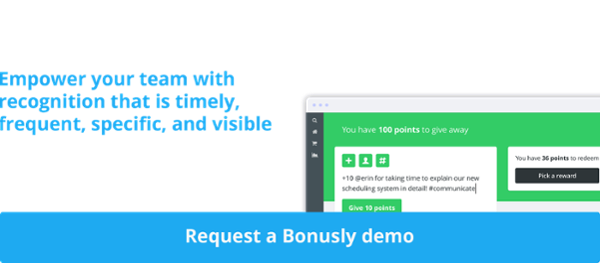 schedule a Bonusly Demo