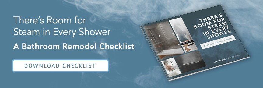 Room for Steam in Every Shower CTA Button