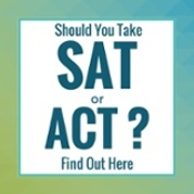 Should you take the SAT or ACT?