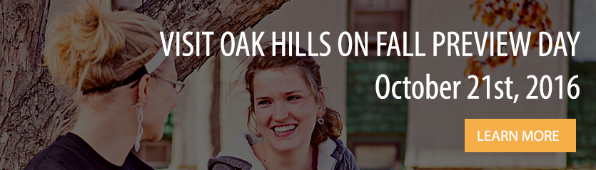 Visit Oak Hills on Fall Preview Day