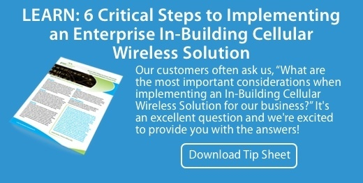 Learn 6 Critical Steps to Implementing an Enterprise In-Building Wireless Solution