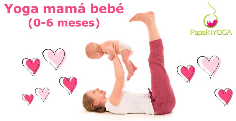 Yoga Postnatal yoga mama-bebé