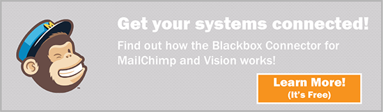 Blackbox Connector for MailChimp and Deltek Vision