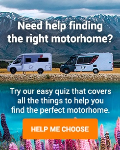 Use our quiz to help you find your perfect motorhome