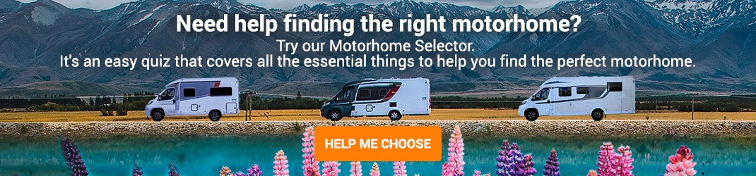 Find your perfect motorhome for New Zealand