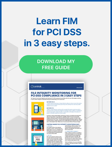 Learn FIM for PCI DSS in 3 easy steps with the Cimcor free guide