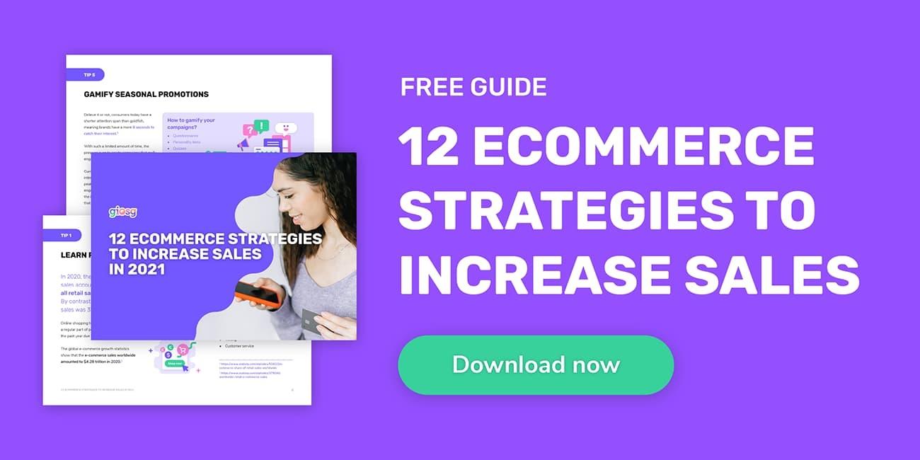 eCommerce strategy guide CTA