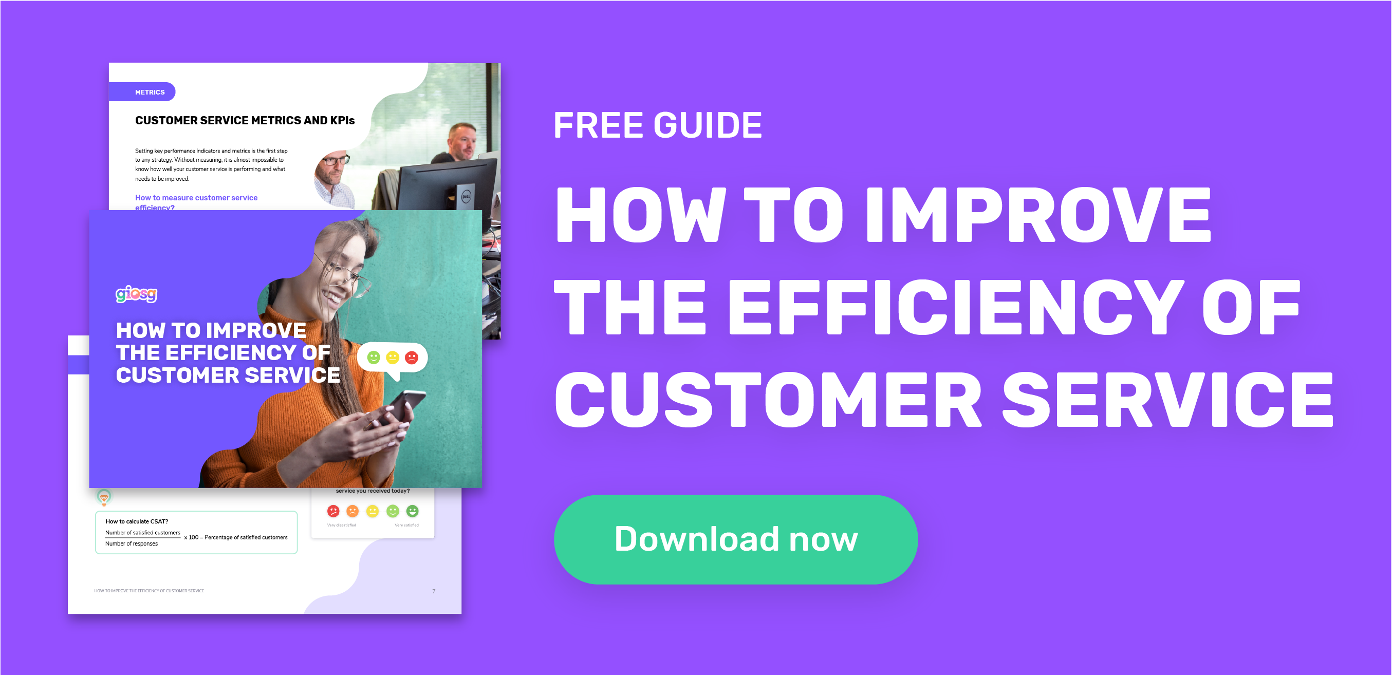 Download customer service efficiency guide now