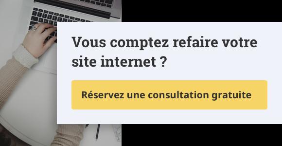 Vous comptez refaire votre site internet ?