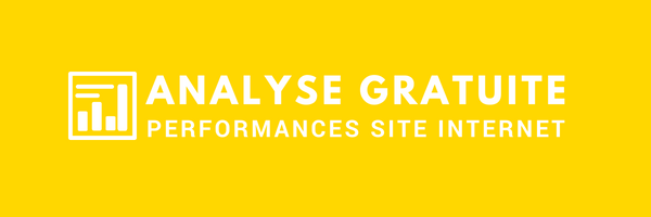 Faites une analyse gratuite des performances de votre site Internet ?