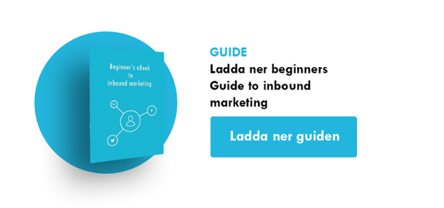 Ladda ner beginners Guide to inbound marketing