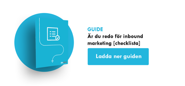 Är du redo för inbound marketing?  [Checklista]