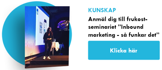 """Inbound Marketing - så funkar det"" - frukostseminarium"