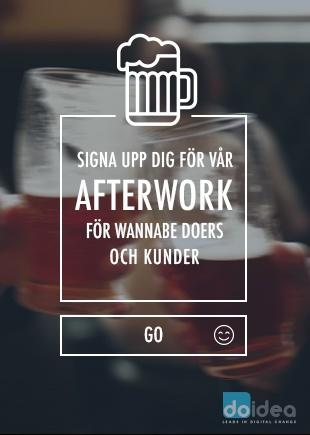 Signa upp dig för vår afterwork för wannabe Doers