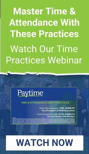 Time Best Practices Webinar