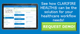 CLARIFIRE HEALTH Demo Request