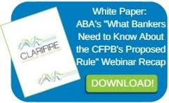 CFPB Proposed Rule Webinar Recap