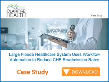 Case Study Reduce CHF Readmission Rates