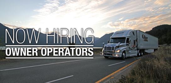 Now Hiring Owner Operators
