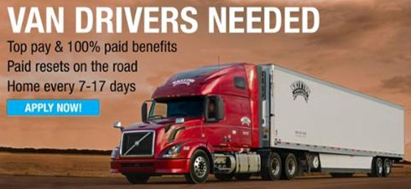 Van Drivers Needed