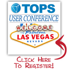 Register for the Vegas TOPS User Conference