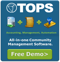 Get a free demo of TOPS all-in-one community management software