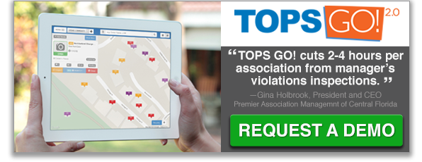 Get a free demo of TOPS GO! 2.0 Mobile Community Management